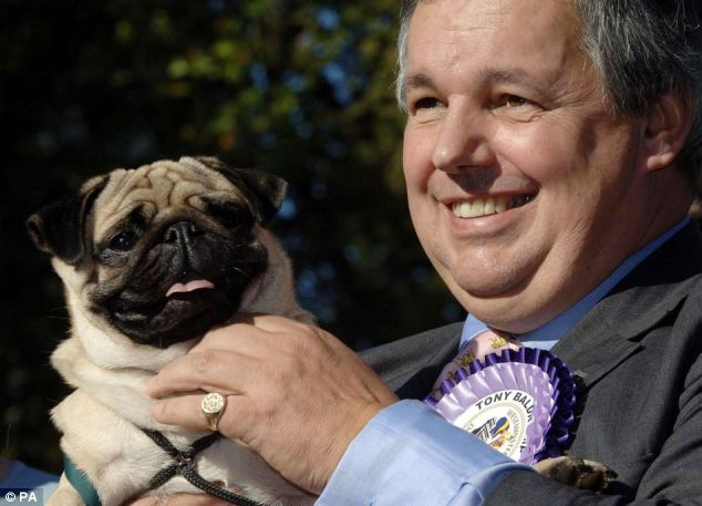 Sir Tony Baldry's family calls him 'Sir Cumference Hippo' and this week Dennis Skinner called him a 'food bank'