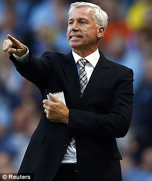 Toon chief: Alan Pardew had considered a move for Townsend