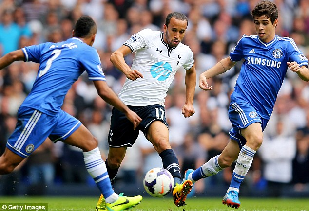 Earning his Spurs: Townsend won his call-up after an impressive start to the season for his club