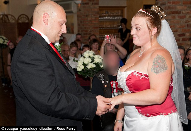 The couple met on an online dating website in 2010. Mick Greaves proposed on one knee after a romantic dinner