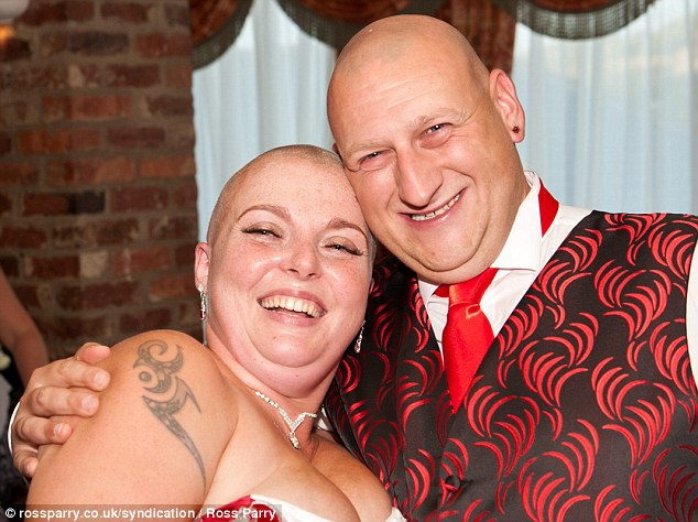 The couple have raised almost £1,300 for Cancer Research UK after setting up an online donation page
