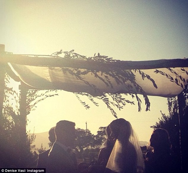 I do! The moment that Denise Vasi and Anthony Mandler became man and wife