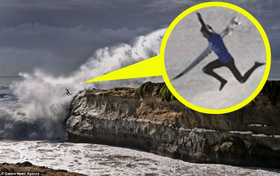 The waters off of Lighthouse Point are known as Steamer Lane and are where Jack O'Neill developed the modern wetsuit and where he lost his eye