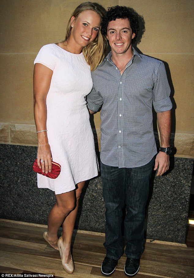 End of an era: Rory McIlroy and Caroline Wozniacki have called off their engagement after more than two years together
