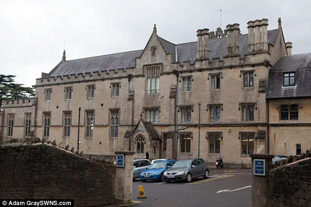Grand: The Kingswood Preparatory School building, who said that just inviting a few friends to parties in front of others was 'divisive and unkind'