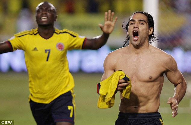 Real ambition: Madrid are hopeful of signing Falcao, who joined Monaco for a reported £49m in the summer
