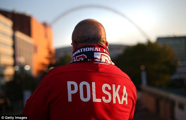 Focused: Poland will be hoping to scupper England's hopes of World Cup qualification at Wembley