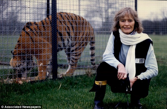 Animal lover Virginia McKenna was too upset to return to London Zoo on Thursday