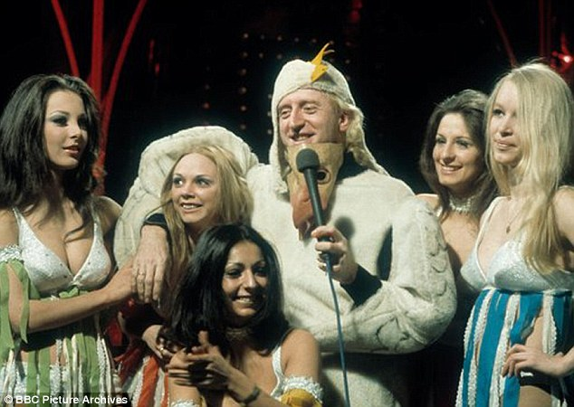Brag: Savile made the extraordinary claim that his celebrity status meant there was 'no need to chase girls. I've thousands of them on Top Of The Pops, thousands on Radio One'
