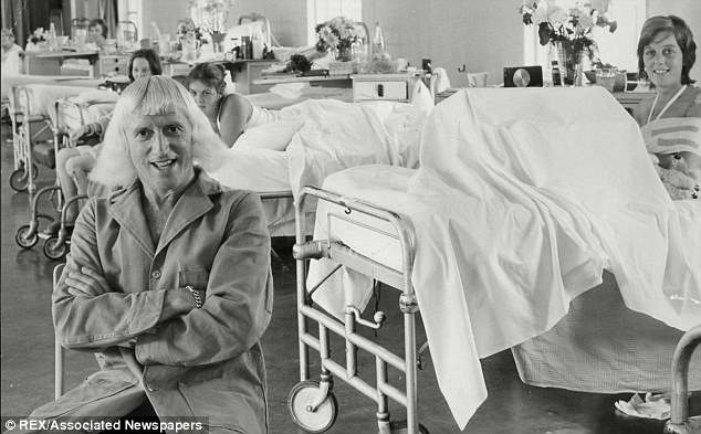 Savile at Stoke Mandeville. He claimed to 'own' the hospital
