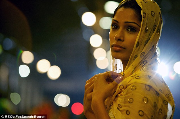 A different start: Freida in known for her turn as the sweet Latika in Slumdog Millionaire