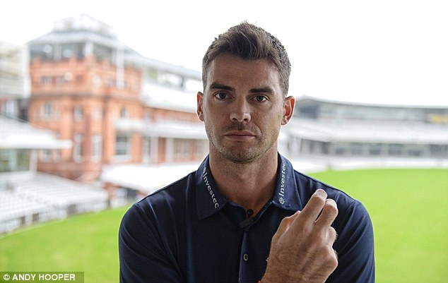 Spearhead: England's number one paceman Jimmy Anderson believes his captain Alastair Cook is underrated