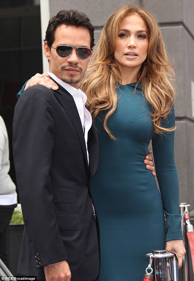 Back in the day: Jennifer started dating Casper just three months after separating from husband Marc Anthony in 2011, pictured that year in LA
