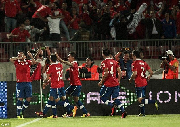 Road to Rio: Chile qualified for the World Cup after finishing third in the South American section