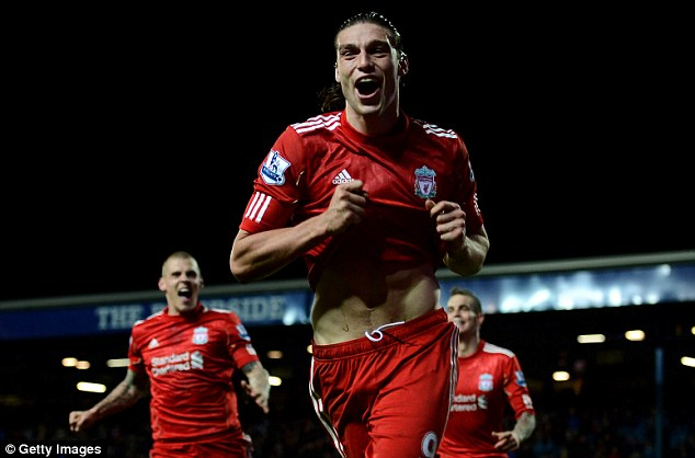 Claim: Former Liverpool chauffeur Dave Sloan (below) claims he fly to Ibiza with Andy Carroll (above) to get a visa