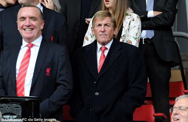 Told: Ian Ayre (left) was approached by Dave Sloan at a Christmas party regarding Haughan's alleged activity