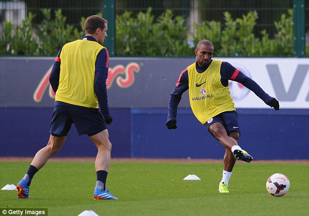 Strike force: Defoe may struggle for Premier League minutes with Spurs, which will harm World Cup chances