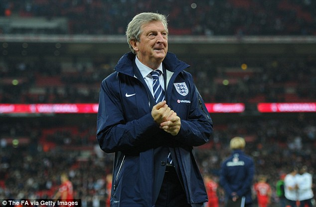 His choice: Hodgson will spend the next seven or so months deciding his squad for Brazil
