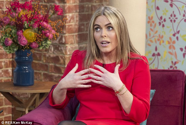 Flustered: Patsy Kensit was not herself on last week's showing of This Morning, with some suggesting she was drunk