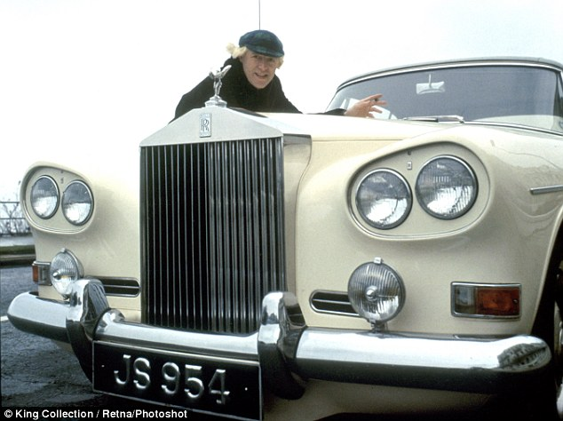 Paedophile: Jimmy Savile with his Rolls-Royce in 1966. A year before police officer found the DJ in his car with a young girl in a lay by
