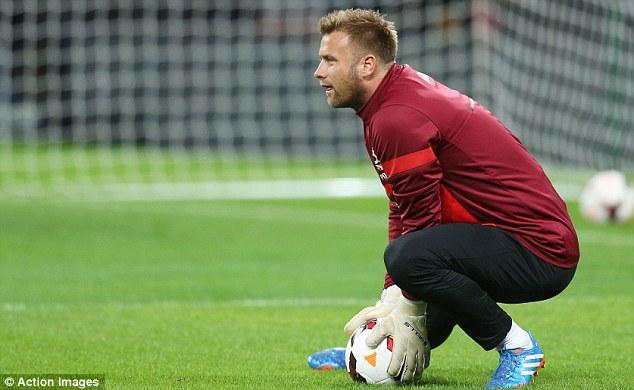 Anxious wait: Southampton will hope goalkeeper Artur Boruc's injury is not too serious