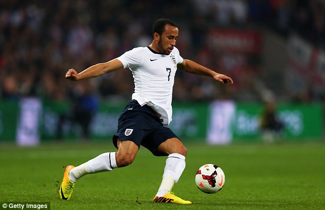 Quip: Hodgson wanted his team-mates to play the ball to Andros Townsend during the win over Poland