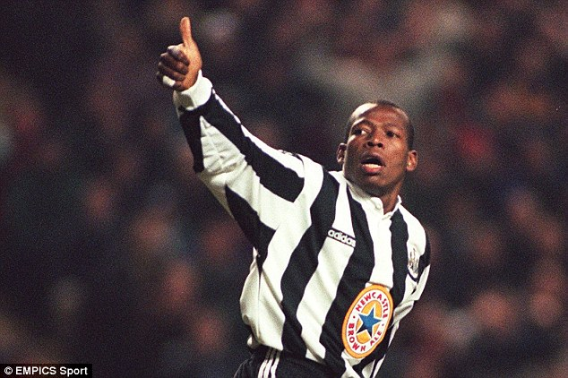 Move on: Asprilla has been asked to sign a one-week contract with an adult film company