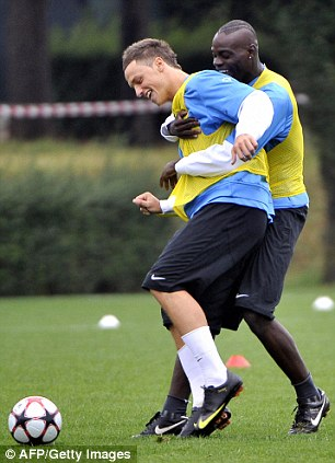 Marko Arnautovic and Mario Balotelli