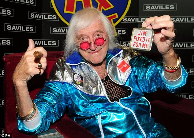 Shamed: Savile abused hundreds of young girls over a period of decades but never faced justice