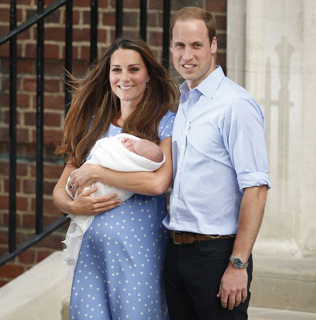 Prince George was born on July 22nd this year at St Mary's hospital in Paddington, London
