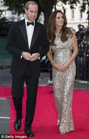 Kate's first official engagement since the birth was attending the Tusk Conservation awards at The Royal Society in London with Prince William in September