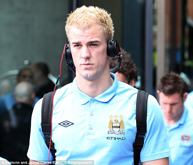 Freedom: City players like Joe Hart will now be allowed to play music in the changing room before and after games