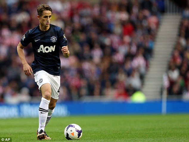 Ready to stay: Manchester United's Adnan Januzaj wants to stay at the club