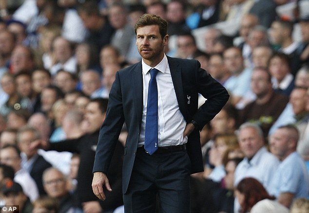 Aim: Villas-Boas is looking for Spurs to get back to winning ways at Aston Villa