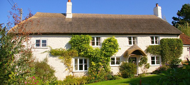 Idyllic:  Could a three-bedroom cottage in Devon be your office?