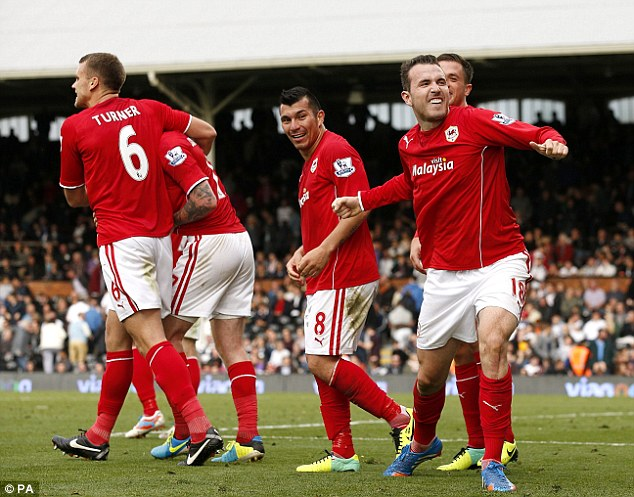 That's better! Cardiff City would move up to fifth in the table if only second halves mattered