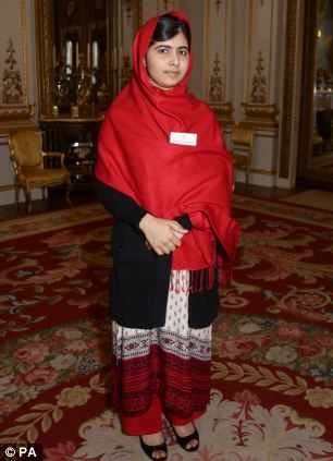 Malala was flown from Pakistan to the UK for emergency treatment after the attack last October