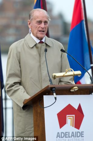 Speech: The Duke of Edinburgh gave a speech at the ceremony in Greenwich, London, to rename the world's oldest clipper ship ahead of it's journey to it's new home in the Southern Australian city