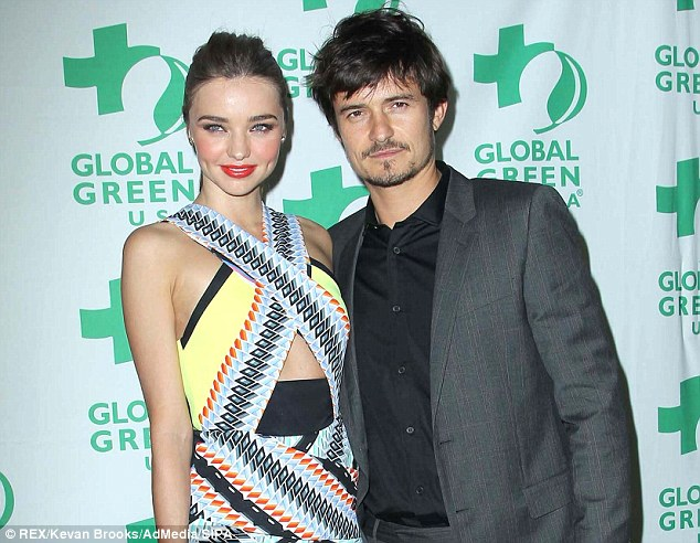 Maybe they'll co-star in a movie together? The couple in February at a Global Green event