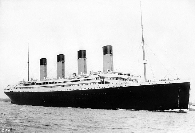 The 'unsinkable' Titanic set off on its ill-fated maiden voyage in 1912