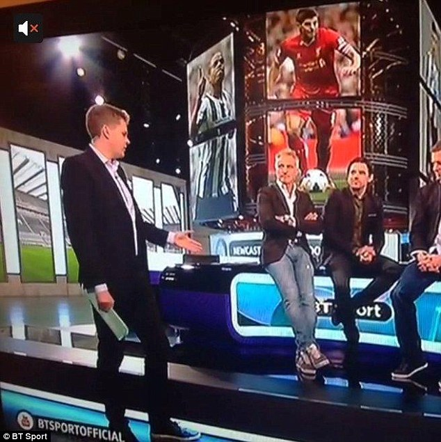 What are you wearing? Humphrey mocks Ginola for his choice of outfit