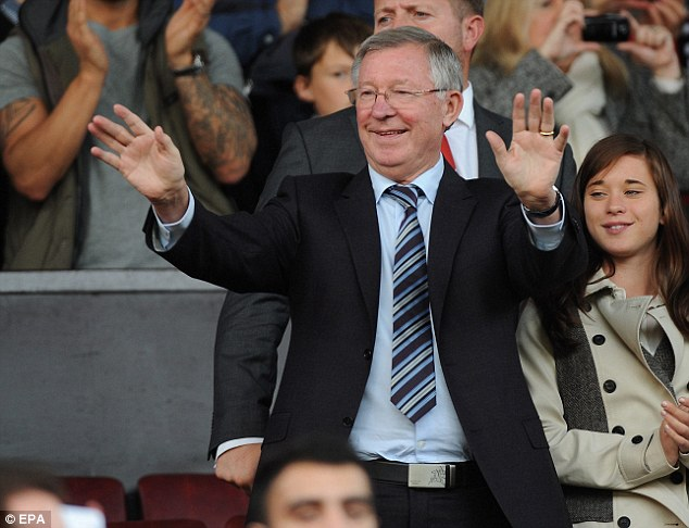 Spectator: Former Manchester United manager Sir Alex Ferguson was in the stands at Old Trafford