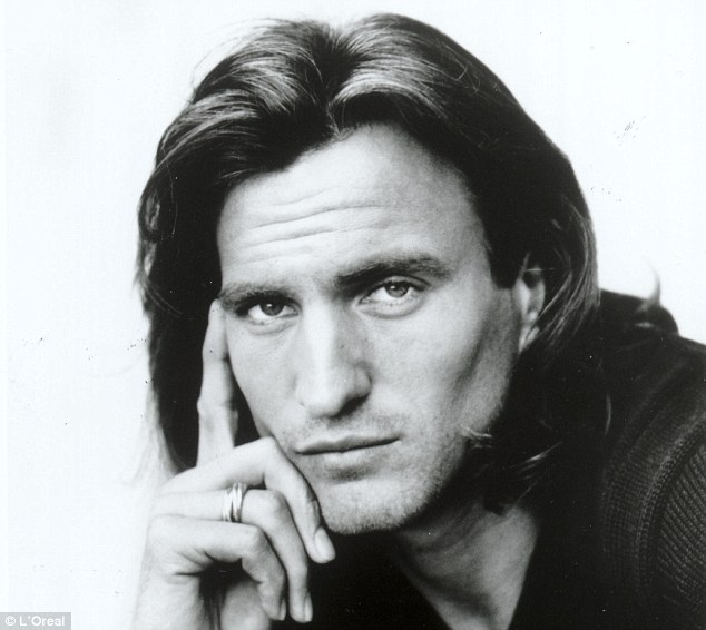 Because I'm worth it: David Ginola is well-known for modelling for L'Oreal Shampoo