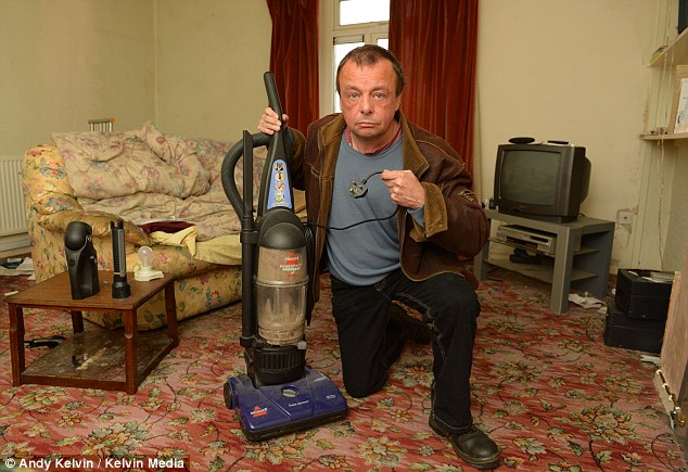 Chores: Tasks such as vacuuming, that most people take for granted cannot be, carried out by Mr Guest