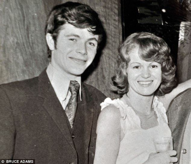 'Booze over family': Frank Holden walked out on Amanda's mother Judith, pictured together in 1973, when Amanda was just four years old