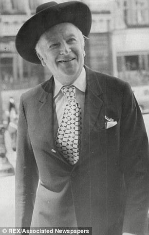 Photographer Sir Cecil Beaton