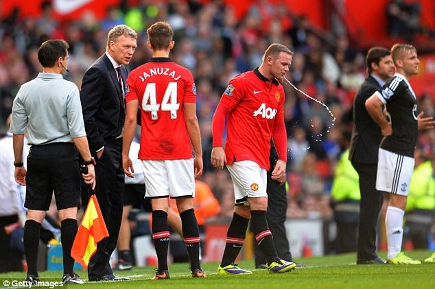 Fast tracked: Januzaj is now playing alongside superstars like Wayne Rooney