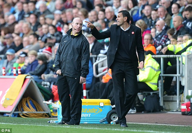 Paolo Di Canio's shadow: Gus Poyet has been left many problems to answer at Sunderland