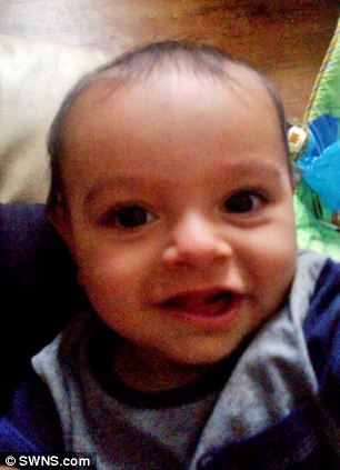 Sulailman Khan, 10 months, was taken from his mother at a hotel in Hanley, Staffordshire