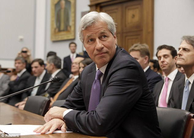 Inquiry: Bank CEO Jamie Dimon testifies before the House financial services hearing in June 2012